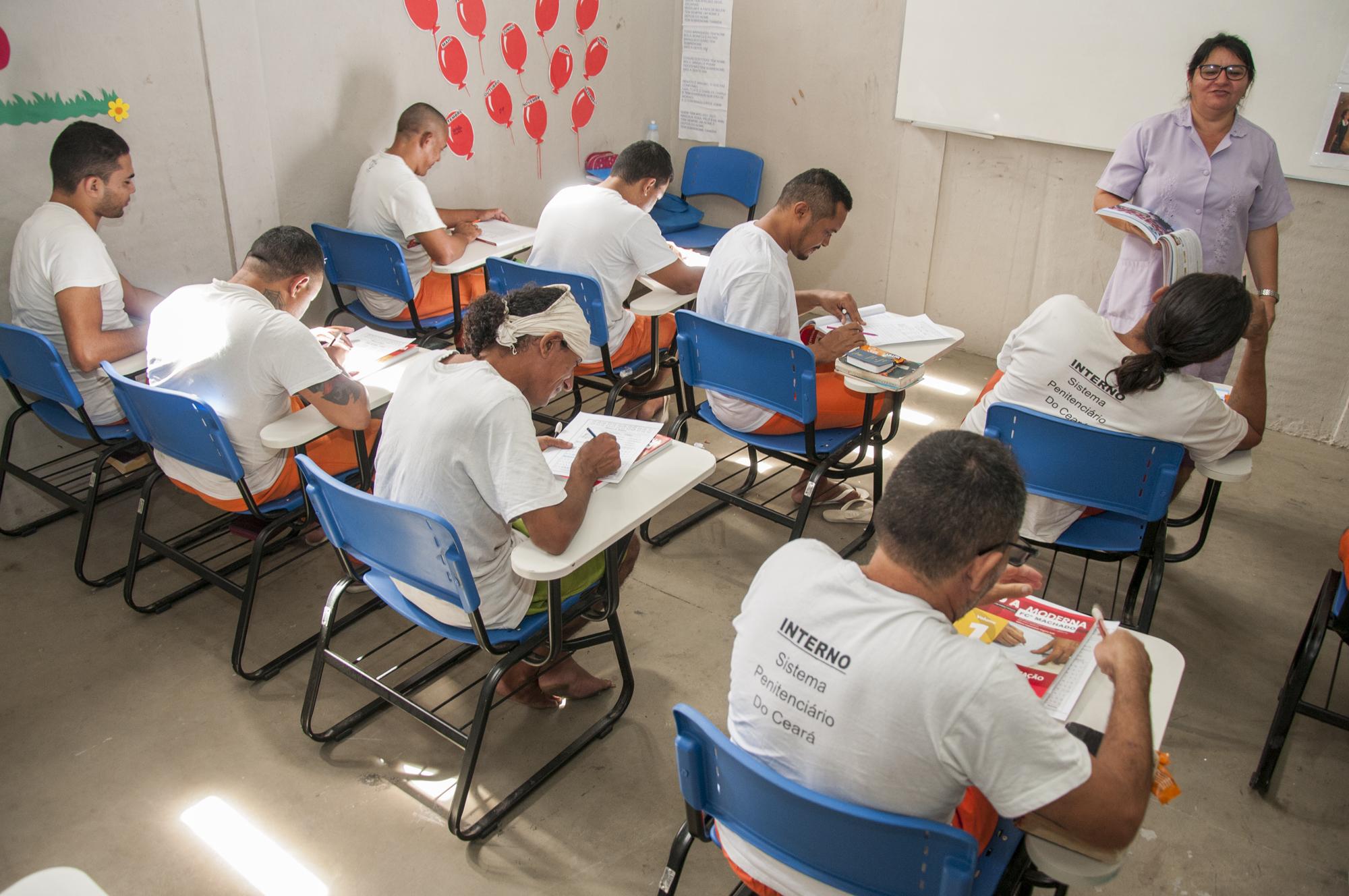 SAP amplia oferta educacional no sistema prisional