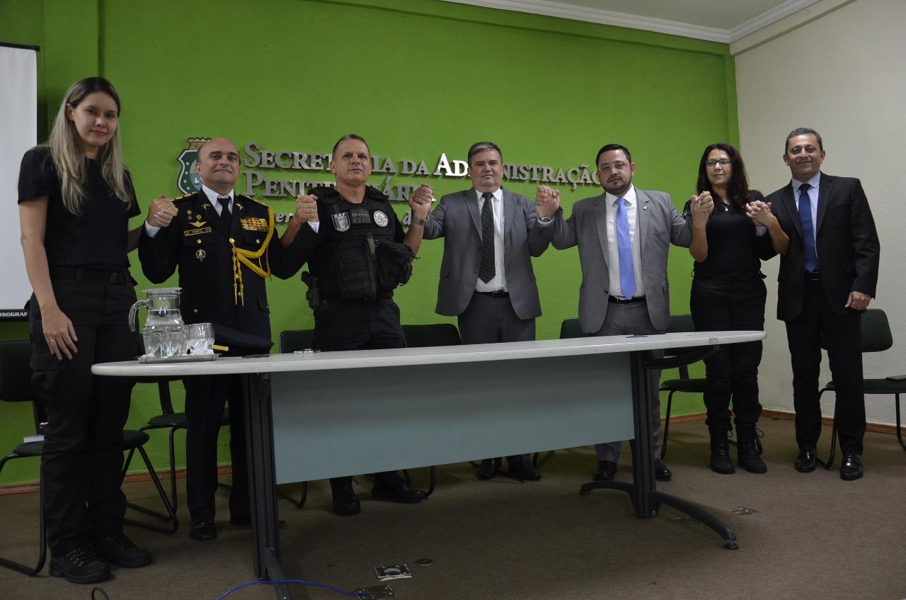 Conselho de Defesa do Agente Penitenciário é lançado nesta segunda-feira (17) no Ceará